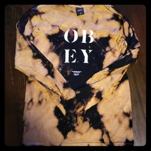 OBEY long sleeve T shirt size small